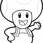 Toad from Mario Bros.