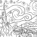 Gwiaździsta noc, Vincent van Gogh