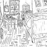 Sypialnia w Arles, Vincent van Gogh