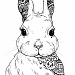 Hare Zentangle