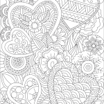 Hearts Zentangle