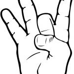 Znak ASL numer 8