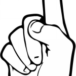 Znak ASL numer 1