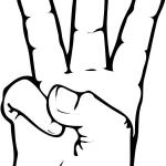 Znak ASL numer 6