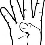 Znak ASL numer 4