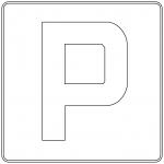 Znak D-18: parking
