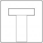 Znak D-4a: droga bez przejazdu