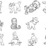 12 chińskich zwierząt jako znaki...